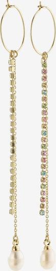 Pilgrim Kolczyki 'Cherished' w kolorze złoty / mieszane kolory / perłowo białym, Podgląd produktu