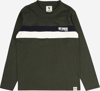 GARCIA Shirt in dunkelblau / dunkelgrün / weiß, Produktansicht