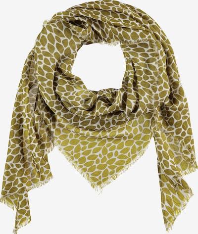 SAMOON Dreiecks-Tuch mit Allover-Print in hellgrün, Produktansicht