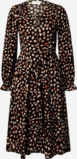 Moves Robe 'Tavilana' en beige / marron / rose clair / noir, Vue avec produit