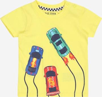 T-Shirt BLUE SEVEN en jaune