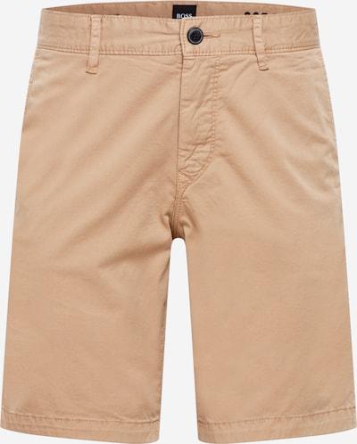 BOSS Casual Pantalon chino en beige clair, Vue avec produit