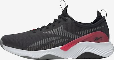 Reebok Sport Sportschuh in grau / karminrot / schwarz, Produktansicht