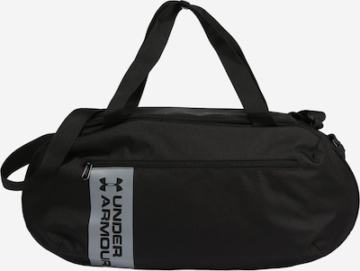 UNDER ARMOUR Sports bag 'ROLAND DUFFLE' in light grey / black, Item view