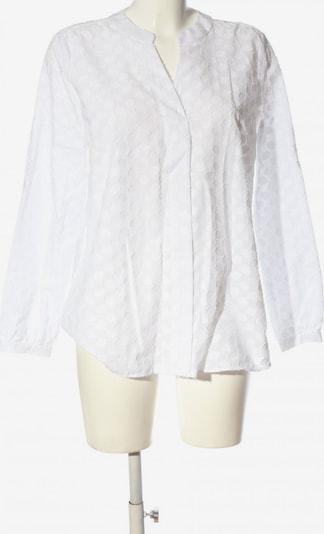 Milano Langarm-Bluse in L in weiß, Produktansicht