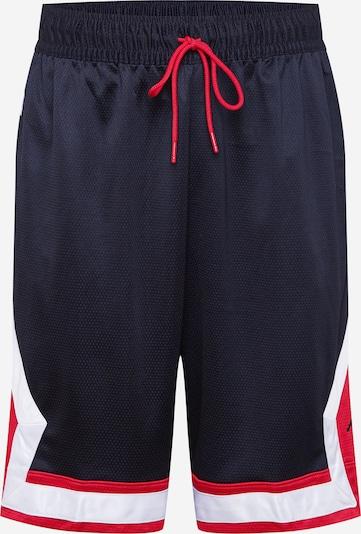 Pantaloni sportivi Jordan di colore rosso / nero / bianco, Visualizzazione prodotti