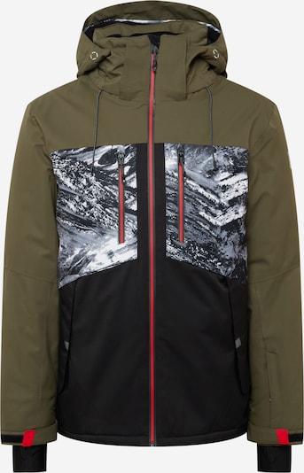 KILLTEC Skijacke in oliv / mischfarben, Produktansicht