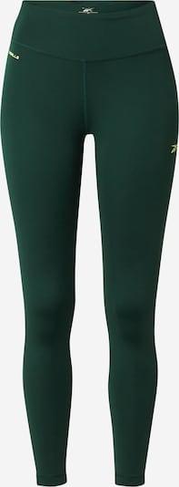 REEBOK Leggings in dunkelgrün, Produktansicht