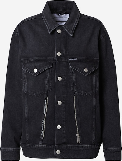 Calvin Klein Jeans Veste mi-saison en noir, Vue avec produit