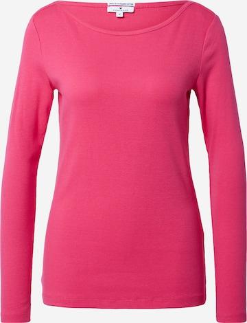 TOM TAILOR Μπλουζάκι σε ροζ