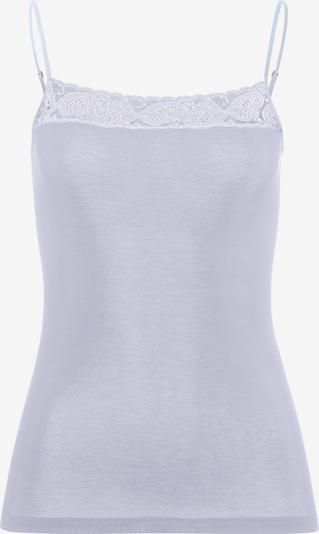 Hanro Maillot de corps en bleu clair, Vue avec produit