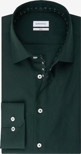 SEIDENSTICKER Business Hemd ' Slim ' in grün, Produktansicht