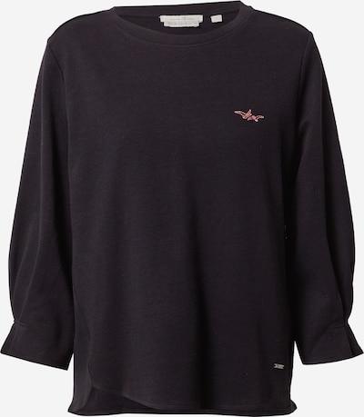 TOM TAILOR DENIM Sweatshirt in schwarz, Produktansicht