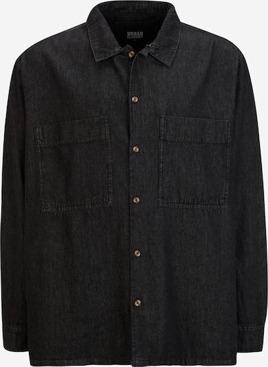 Urban Classics Plus Size Overhemd in de kleur Zwart, Productweergave
