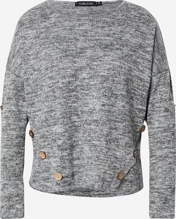 Sublevel Pullover in Grau