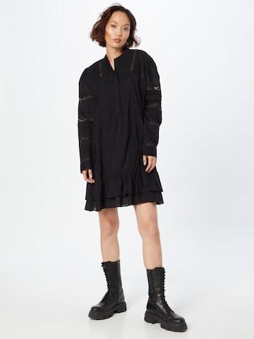 Twinset Sukienka koszulowa w kolorze czarny