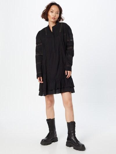 Rochie tip bluză Twinset pe negru, Vizualizare model