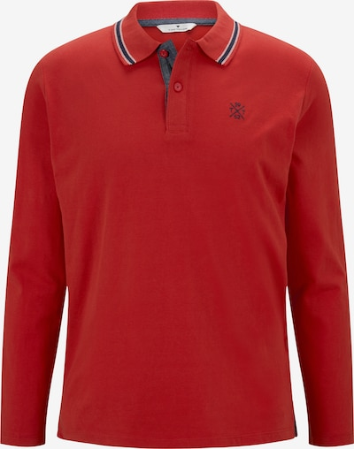 TOM TAILOR Shirt in de kleur Rood: Vooraanzicht