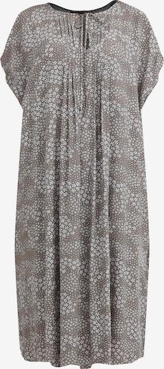 Finn Flare Kurzarm-Kleid in braun / grau, Produktansicht
