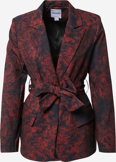 Blazer Unique21 di colore rosso scuro / nero, Visualizzazione prodotti