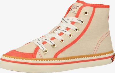 SCOTCH & SODA Sneakers hoog in de kleur Grijs / Sinaasappel, Productweergave