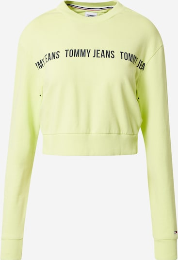 Tommy Jeans Sportisks džemperis kivi / melns, Preces skats