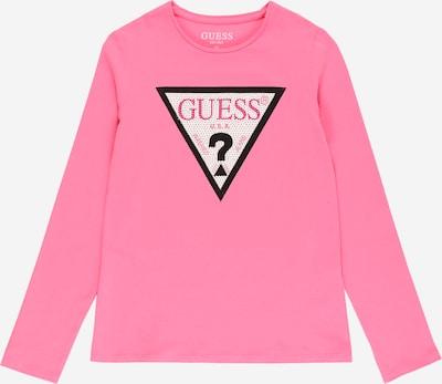 Tricou GUESS pe roz, Vizualizare produs