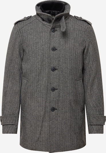 SELECTED HOMME Between-Seasons Coat 'NOAH' in Grey / Black, Item view