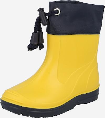 BECK Kumisaappaat värissä laivastonsininen / keltainen, Tuotenäkymä