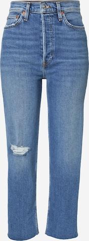 RE/DONE Jeans i blå