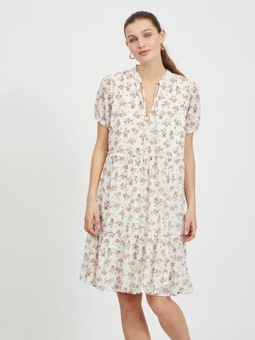 VILA Kleid 'URA' in Weiß