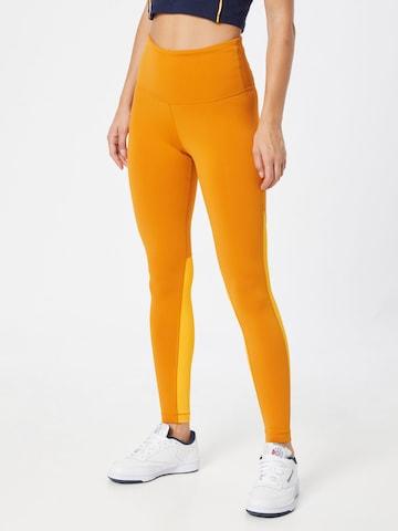 Reebok Sport Sporthose in Orange