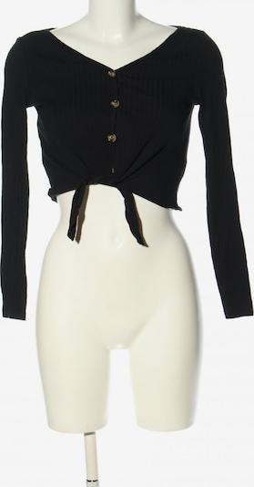 SheIn Cropped Shirt in XS in schwarz, Produktansicht