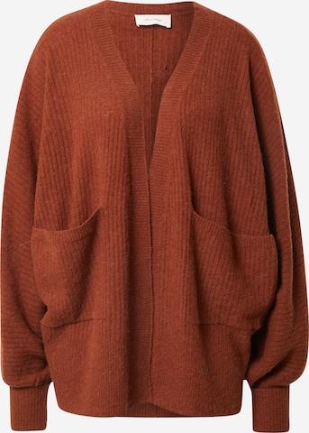 AMERICAN VINTAGE Strickjacke 'Kybird' in Rot