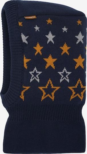 MAXIMO Cepure, krāsa - tumši zils / gaiši pelēks / oranžs, Preces skats