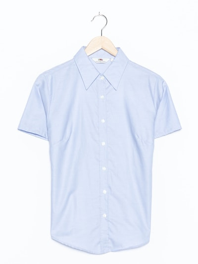 FRUIT OF THE LOOM Bluse in S-M in hellblau, Produktansicht