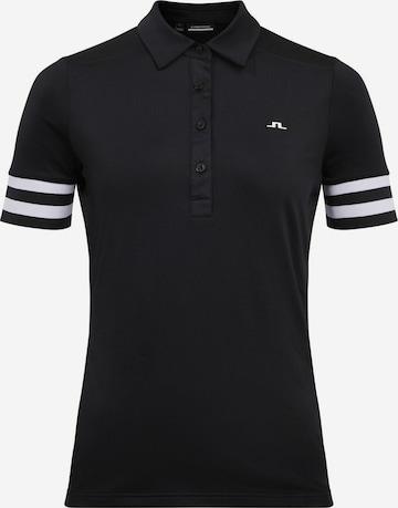 T-shirt fonctionnel 'Stella' J.Lindeberg en noir