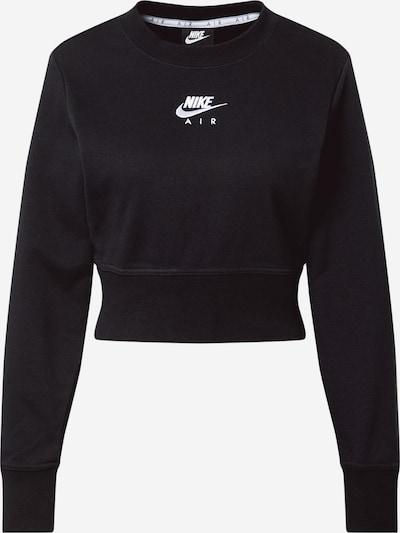 Nike Sportswear Sweatshirt in de kleur Zwart / Wit, Productweergave