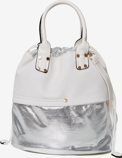 HARPA Tote-Bag in silber / weiß, Produktansicht