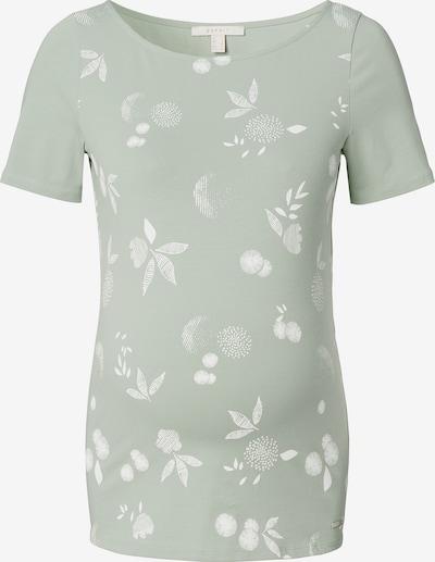 Esprit Maternity T-Shirt in pastellgrün / weiß, Produktansicht
