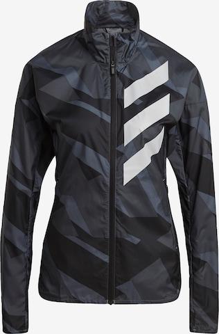 adidas Terrex Outdoor Jacket 'TERREX Parley Agravic' in Grey