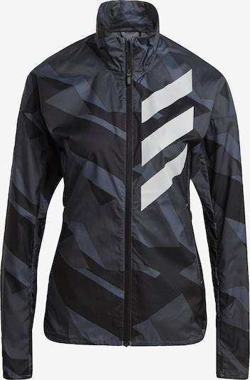 adidas Terrex Jacke 'TERREX Parley Agravic' in grau / schwarz, Produktansicht