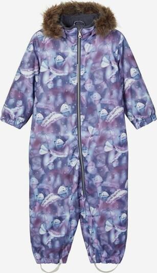 NAME IT Functioneel pak 'Snow08' in de kleur Duifblauw / Gemengde kleuren, Productweergave