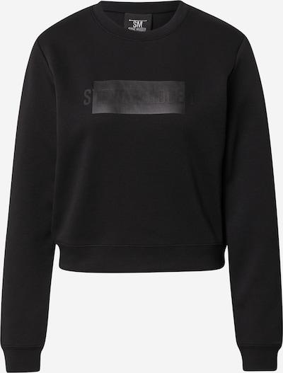 STEVE MADDEN Sweatshirt 'LUCCA' in schwarz, Produktansicht