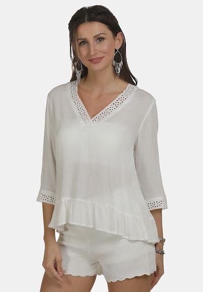 usha FESTIVAL Blouse in de kleur Wit, Modelweergave