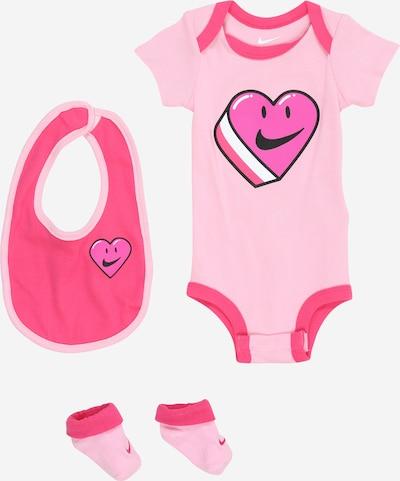 Nike Sportswear Set in de kleur Pink / Donkerroze / Wit, Productweergave