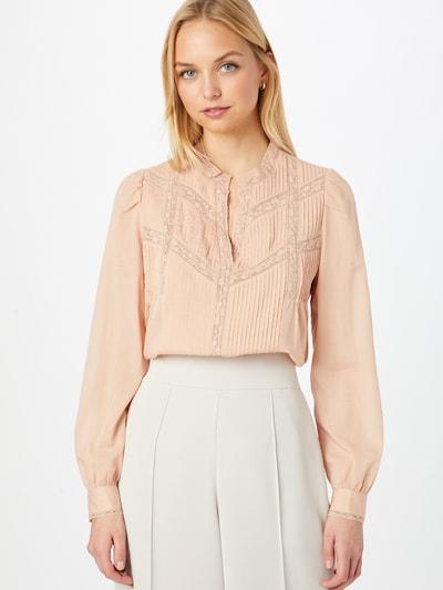 Bluză 'TARA' Maison 123 pe roz pudră, Vizualizare model