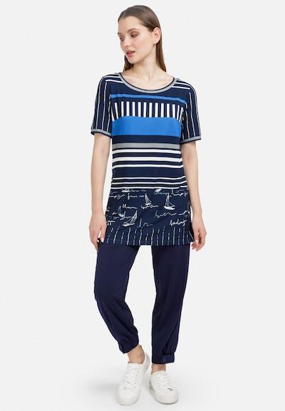 HELMIDGE Bluse in blau, Modelansicht