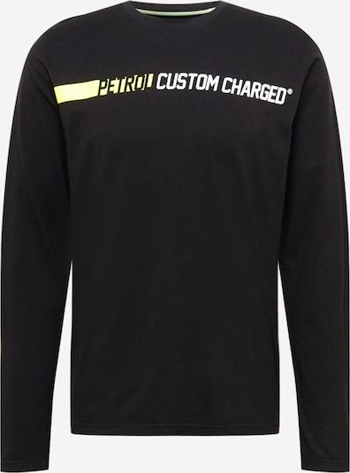 Petrol Industries Μπλουζάκι σε ακτινίδιο / μαύρο / λευκό, Άποψη προϊόντος