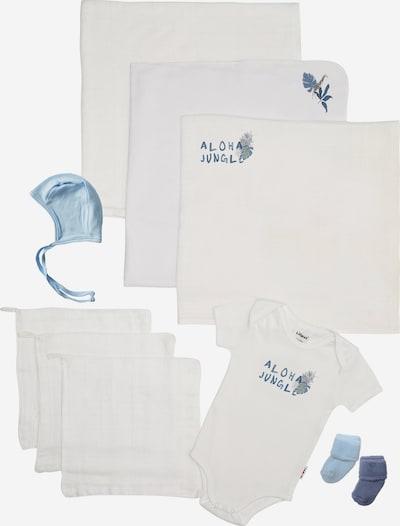 LILIPUT Baby Starter-Set 'Aloha Jungle' in blau / weiß, Produktansicht